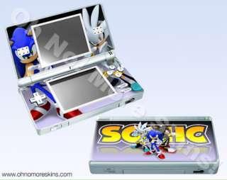 Nintendo DS Lite Skin Vinyl Decal   Sonic Rivals