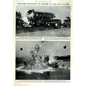 1951 TRAIN CRASH FRANCE FRANKFURT PARIS RUCKER ARMY: Home