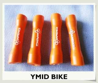BICYCLE BIKE BRAKE CABLE PROTECTOR PADS  4pcs BLUE