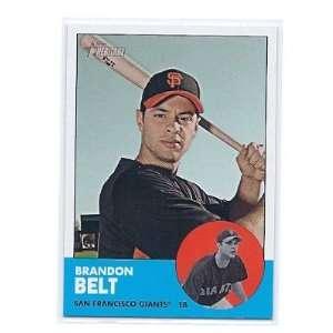 Short Print #490 Brandon Belt San Francisco Giants