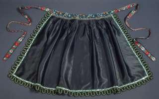 SLOVAK folk costume apron ethnic kroj traditional dress
