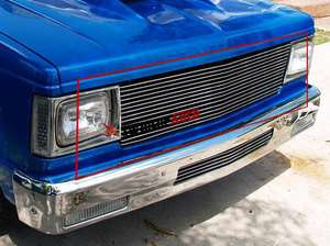 82 90 88 85 86 87 Chevy S10 Pickup Billet Grille Grill