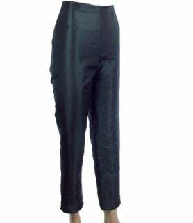 Patrick Christopher Womens Silk Taffeta Dress Pants