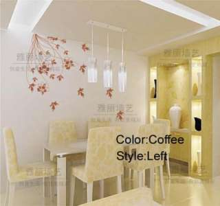 DIY Removable Elegant Flower Vine Vinyl Room Wall sticker Art Paper