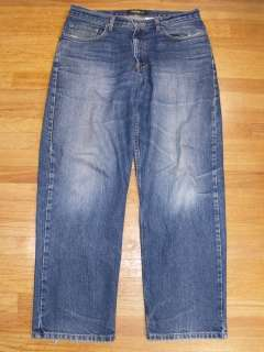 Mens Eddie Bauer Jeans Relaxed Fit Size 34x30 Rugged Look