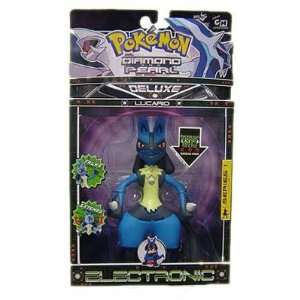 Series 1 Lucario Electronic Deluxe Action Figure by J Toys & Games