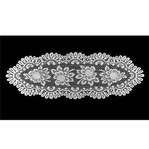 Rose Lace Table Runner   17 X 50