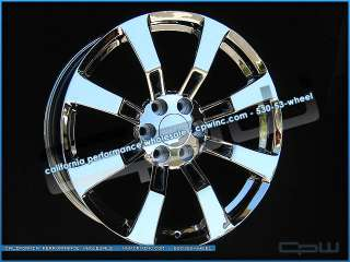 CHEVROLET 6 LUG FACTORY CHROME WHEELS YUKON SIERRA DENALI NIB