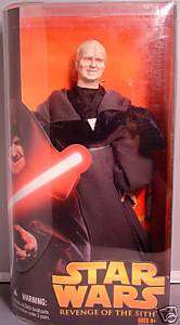 Star Wars ROTS 12 Darth Sidious Action Figure