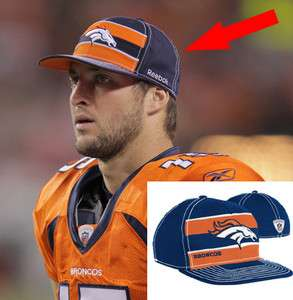 2011 NFL football player sideline hat cap nwt new S/M Tim Tebow
