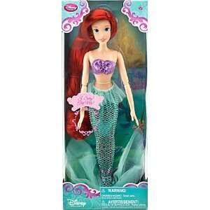 Princess 17 Ariel The Little Mermaid Singing Doll Toys & Games