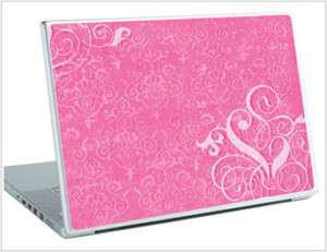 College DORM DECOR Laptop Netbook Wear Skin Hot Pink Art Decal 14 15
