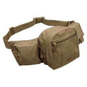 Condor Tactical Fanny Pack. (Tan) Sports & Outdoors