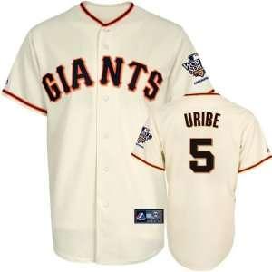 Juan Uribe Jersey San Francisco Giants #5 Home Replica