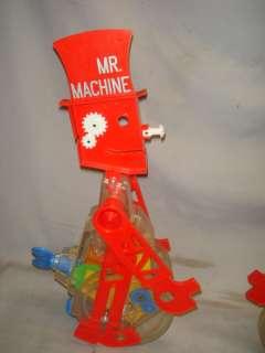 Vintage Ideal Mr Machine 2 men, Parts & Ideal Train