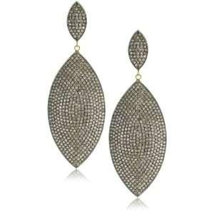 Shery Shabani Red Carpet Diamond Marquise Earrings