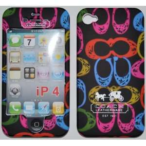 IPHONE 4G C STYLE MC BLACK FULL CASE/COVER Everything