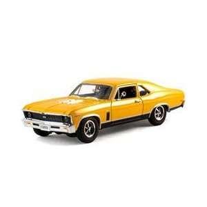 1969 Chevrolet Nova SS Diecast Car Model 1/32 Orange Die