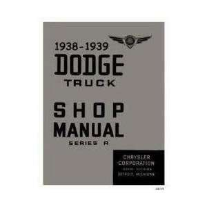 1939 Dodge Truck Factory Shop Service Manual Chrysler Corp. Books