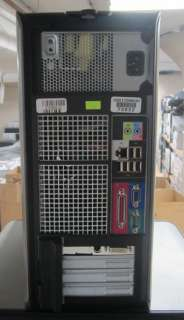 Dell Optiplex 755 Core 2 Duo E6750 2.66GHz 4GB 80GB Vista Tower PC