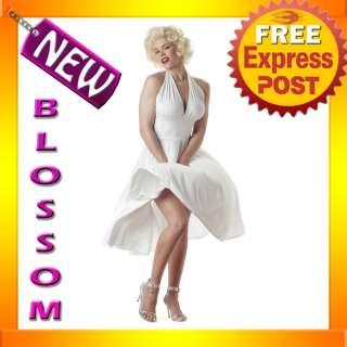 C11 Licensed Marilyn Monroe Sexy Dress Costume S M L XL
