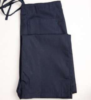 NAVY BLUE Cargo Scrub Pants L LARGE Nursing Scrubs