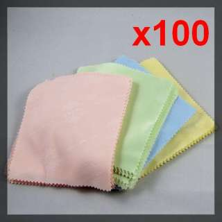 Mobile DC PDA Screen Microfiber Cleaning Cloths 100 pcs