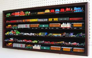 HO scale Model Train Display Case Cabinet Wall Rack for HO Scale Train