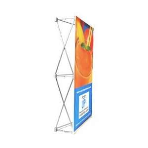 Quick Fabric Pop Up Table Top Display 31.5 x 59.5
