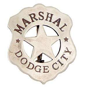 Western Dodge City Marshal Badge Replica: Sports