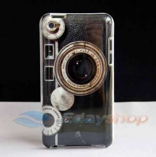 OLD CAMERA LENS HARD BACK SKIN CASE COVER FOR IPOD TOUCH 4 4th 4G GEN