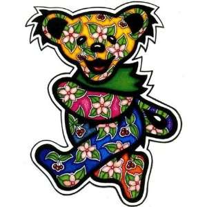 Grateful Dead Tropical Dancing Bear   Sticker / Decal: Automotive