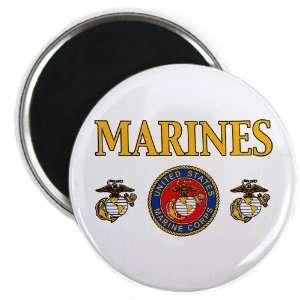 2.25 Magnet Marines United States Marine Corps Seal