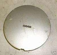 93 94 95 SAAB 9000 CENTER CAP 15 X 6 ALUMINUM WHEEL RIM HUB CAP TRIM