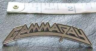 GAMMA RAY PIN BADGE IRON SAVIOR FREEDOM CALL RAGE FORCE