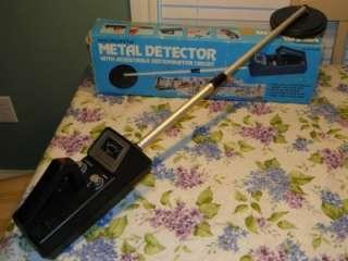 RadioShack Micronta 4001 Discriminator Metal Detector