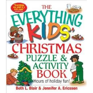 Everything Kids Christmas Puzzle and Activity Book Mazes, Activities