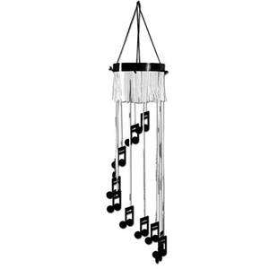 Rock & Roll Music Party Musical Note Hanging Decoration