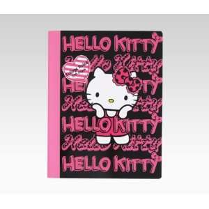 Hello Kitty Composition Notebook Pink & Black Toys