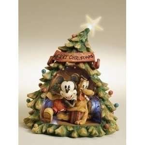 Disney Mickey Mouse & Pluto Christmas Decoration Tree