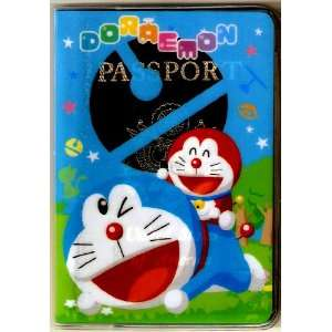 Doraemon Nobita Robotic Cat Passport Cover ~ No More Bent