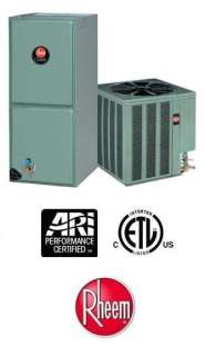 Ton 14 Seer Rheem Heat Pump System   13PJL24A01   RHLLHM2417JA