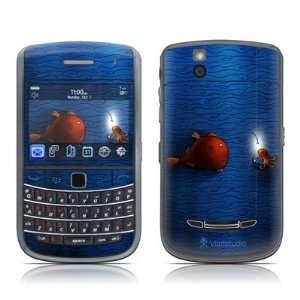Angler Fish Design Skin Decal Sticker for Blackberry Bold 9650 Cell