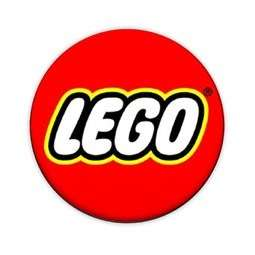 Lego Logo 1 Pin Button Badge (Retro Vintage Childrens)