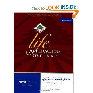 Life Application Study Bible (9780310919797) Ronald A. Beers Books