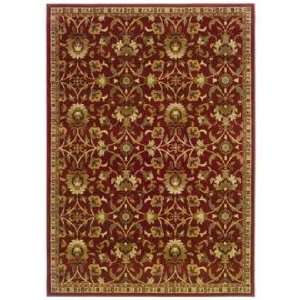 Riverwoods Collection Wind Carpet Red 32x57 Area Rug