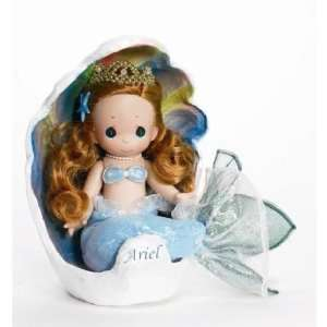 Precious Moments 9 Disney Classic Doll Ariel in Shell Disney