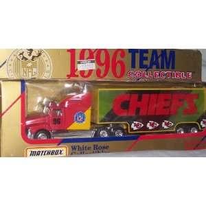 Kansas City Chiefs NFL Diecast 1996 Matchbox Tractor