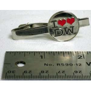 Doctor Who I Love (Two Hearts) Doctor Who Tie Tack Clip