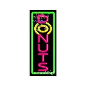 Donuts Neon Sign 13 inch tall x 32 inch wide x 3.5 inch Deep inch deep